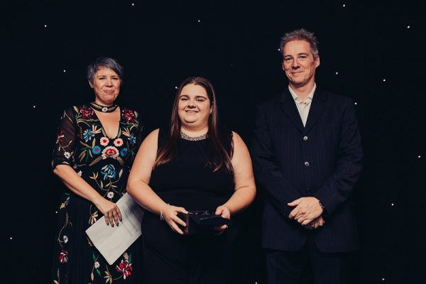 Engaged Award - Jessica Hallworth, Cawood House